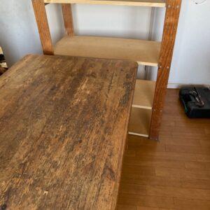 【世田谷区】四人用ダイニングテーブル、電子ピアノ、タンス等の回収