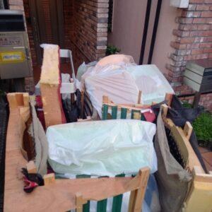 【世田谷区】二人掛けソファー、一般ごみ等の回収・処分ご依頼