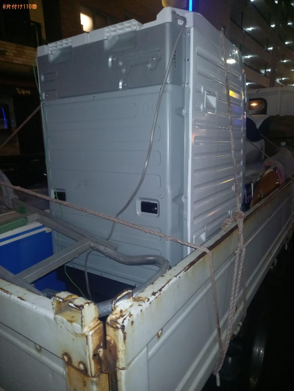 【渋谷区】ドラム式乾燥機付き洗濯機の回収・処分ご依頼 お客様の声