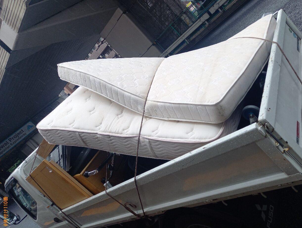 【渋谷区】セミダブルマットレスの回収・処分ご依頼 お客様の声